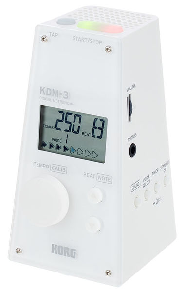 Korg KDM-3 Digital Metronome White