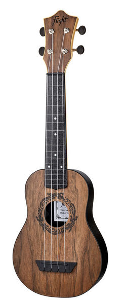Flight TUS50 Travel Ukulele Walnut