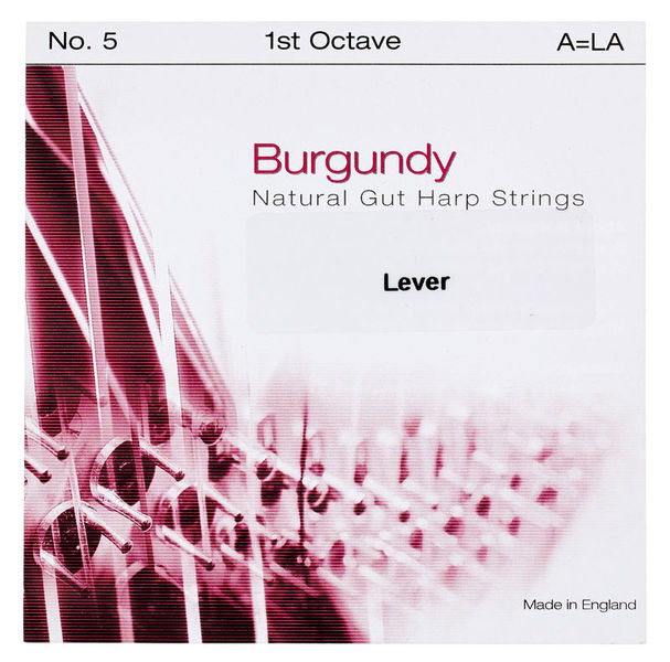 Bow Brand Burgundy 1st A Gut String No.5