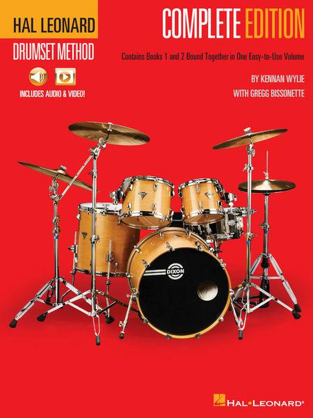 Hal Leonard Drumset Method - Complete