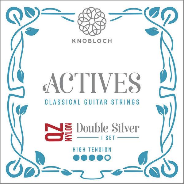 Knobloch Strings Double Silver Nylon 500ADQ