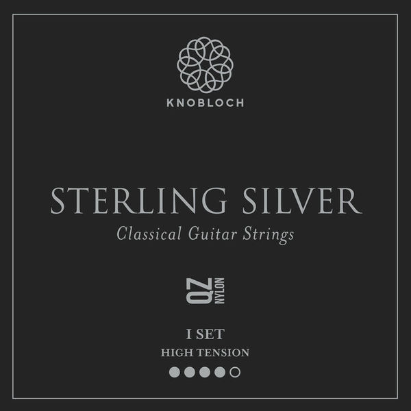 Knobloch Strings Pure Sterling Silver Nylon500