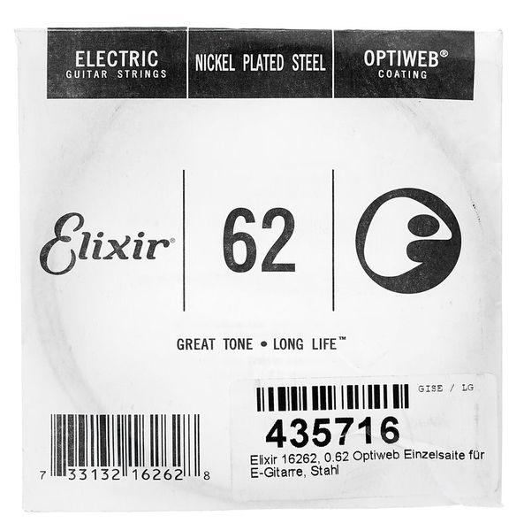 Elixir 0.62 Optiweb Electric Guitar