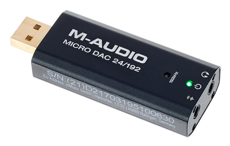 M-Audio Micro DAC 24/192
