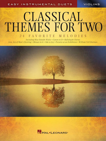 Hal Leonard Classical Themes Two Violins