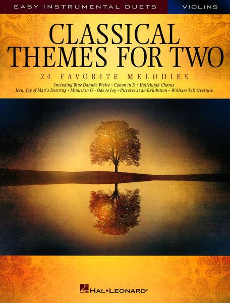 Hal Leonard Classical Themes Two Violins