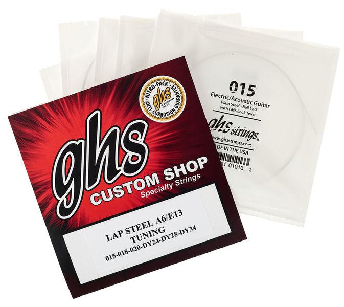 GHS Custom Shop Electric Lap A6/E1