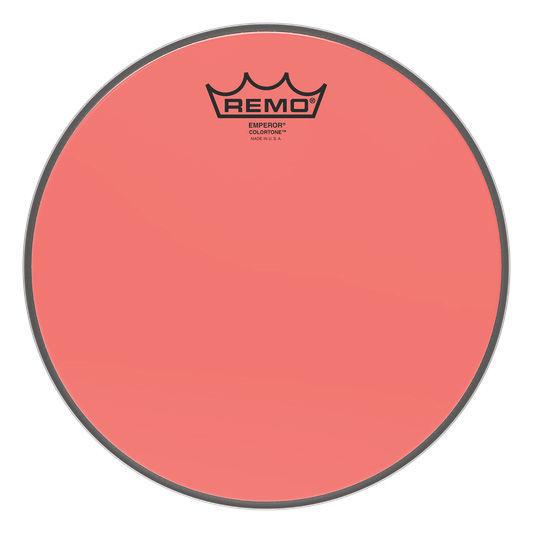 "Remo 10"" Emperor Colortone Red"