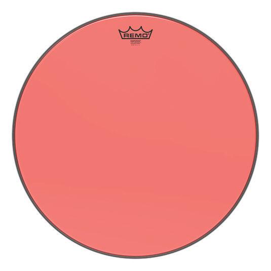 "Remo 18"" Emperor Colortone Red"