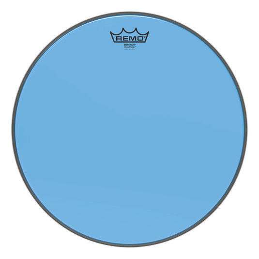 """Remo 15"""" Emperor Colortone Blue"""
