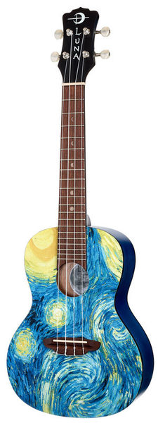 Luna Guitars Uke Starry Night Concert