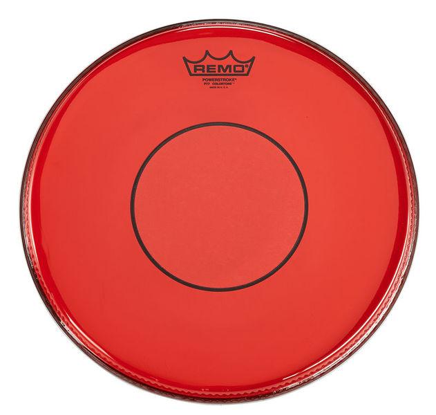 """Remo 14"""" Power. 77 Colortone Red"""