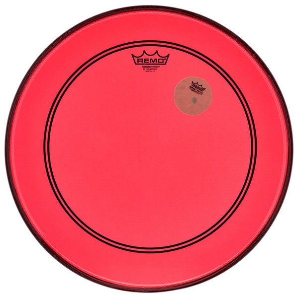 "Remo 18"" P3 Colortone Batter Red"