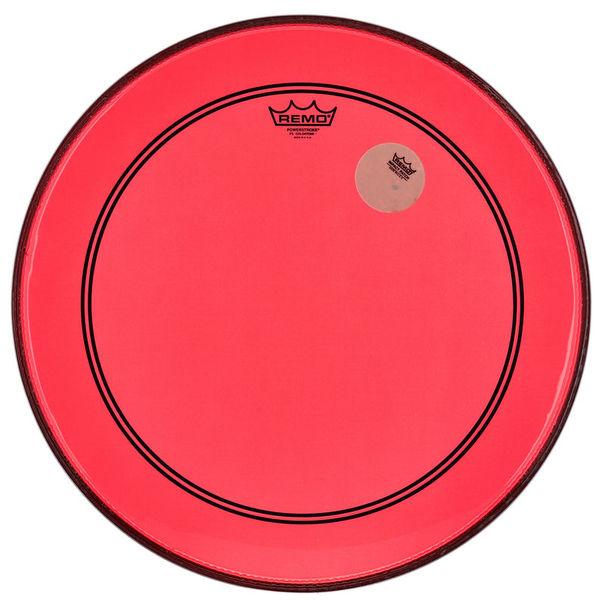 """Remo 20"""" P3 Colortone Batter Red"""