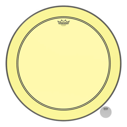 """Remo 24"""" P3 Colortone Batter Yellow"""