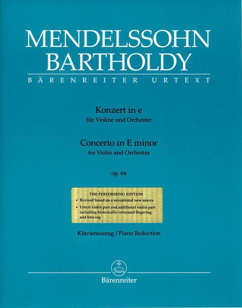 Bärenreiter Mendelssohn Concerto op.64