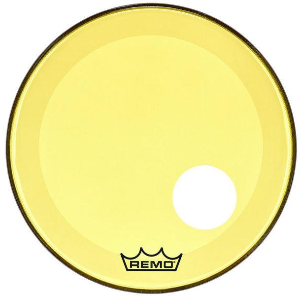 """Remo 22"""" P3 Colortone Reso Yellow"""