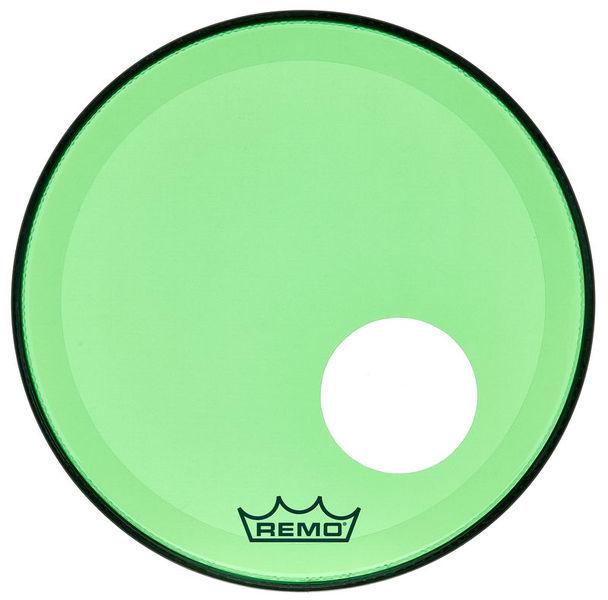 """Remo 18"""" P3 Colortone Reso Green"""