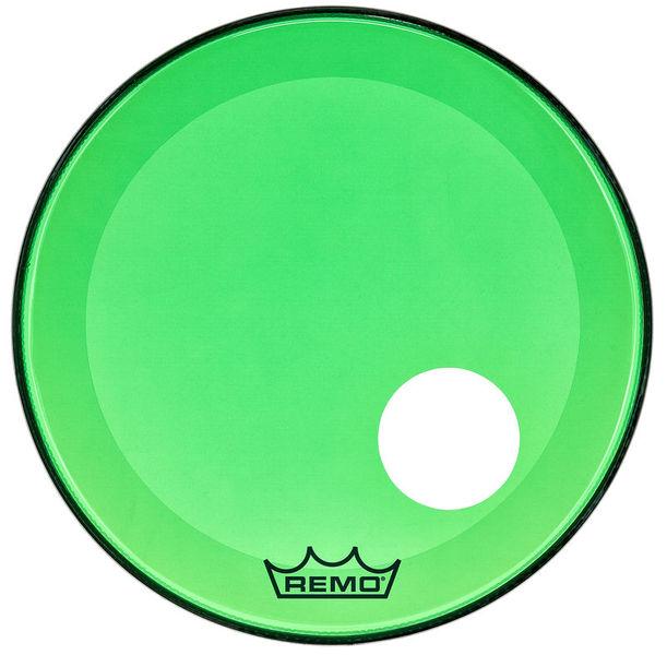 """Remo 22"""" P3 Colortone Reso Green"""