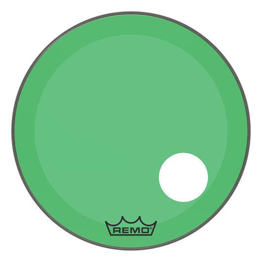 """Remo 24"""" P3 Colortone Reso Green"""