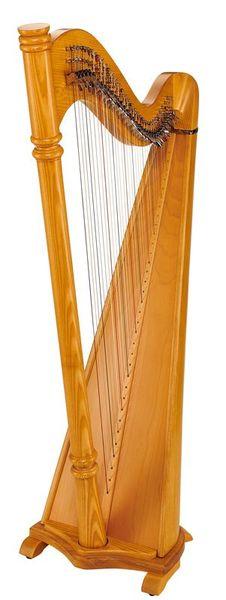 Thomann Pillar Lever Harp 34 Strings