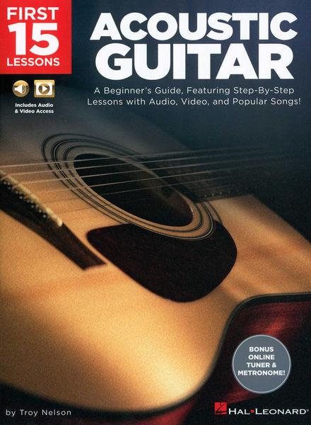 Hal Leonard First 15 Lessons Guitar
