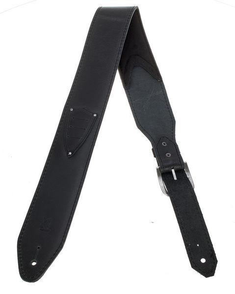 Minotaur Pickholder Guitar Strap Black