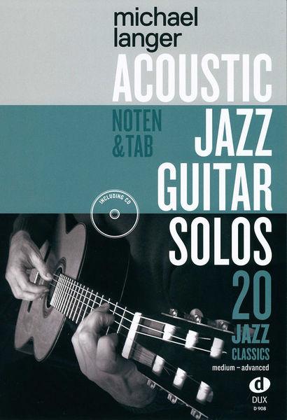 Edition Dux Acoustic Jazz Guitar Solos