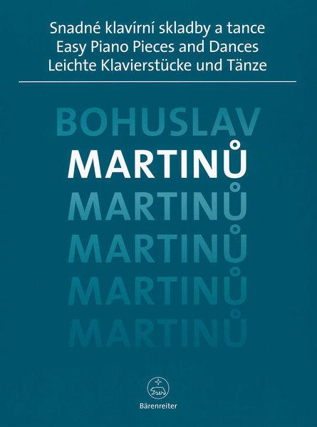 Bärenreiter Martinu Easy Piano Pieces