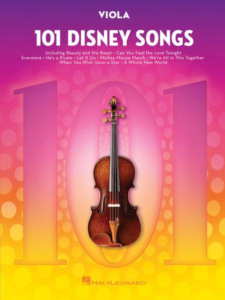 Hal Leonard 101 Disney Songs: Viola