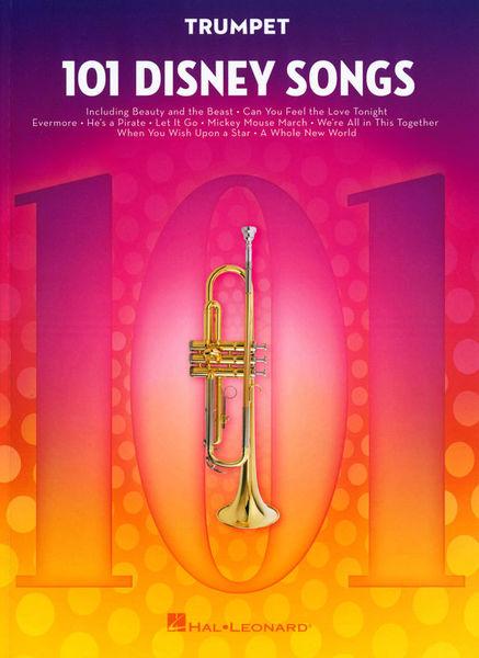 Hal Leonard 101 Disney Songs Trumpet