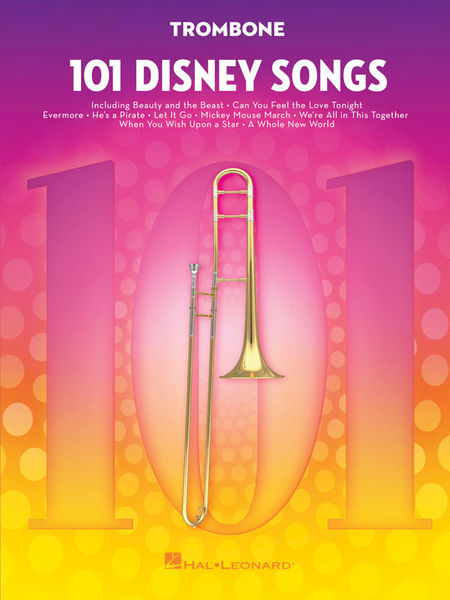 Hal Leonard 101 Disney Songs Trombone