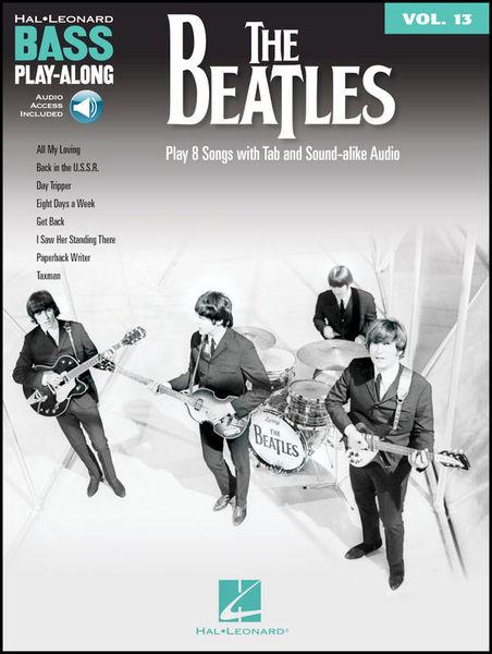 Hal Leonard Bass Play-Along The Beatles