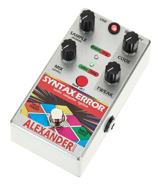 Alexander Pedals Syntax Error S&H/Samp. Crusher