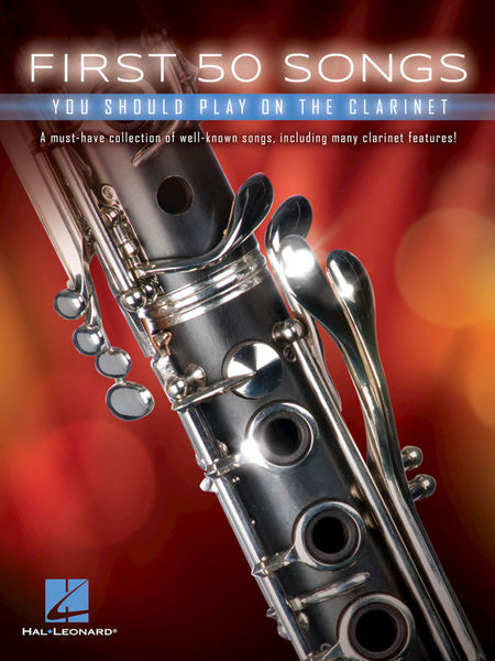 Hal Leonard 50 Songs You Should Clarinet