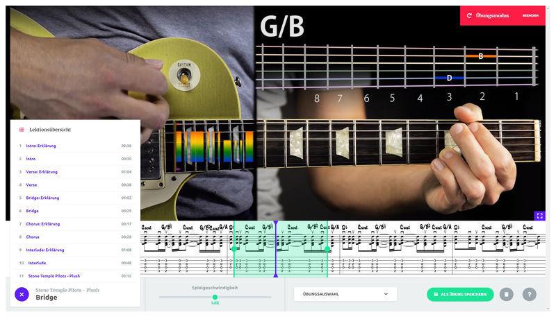 music2me Guitar Subscription 1 Month