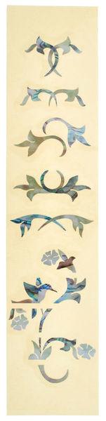 Jockomo Fret Mark-Winding Vine Bird