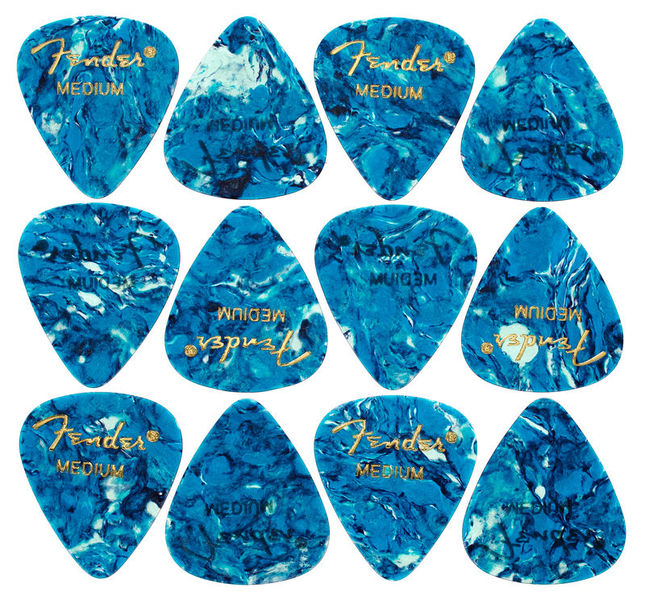 Fender Ocean Turq Pick Medium