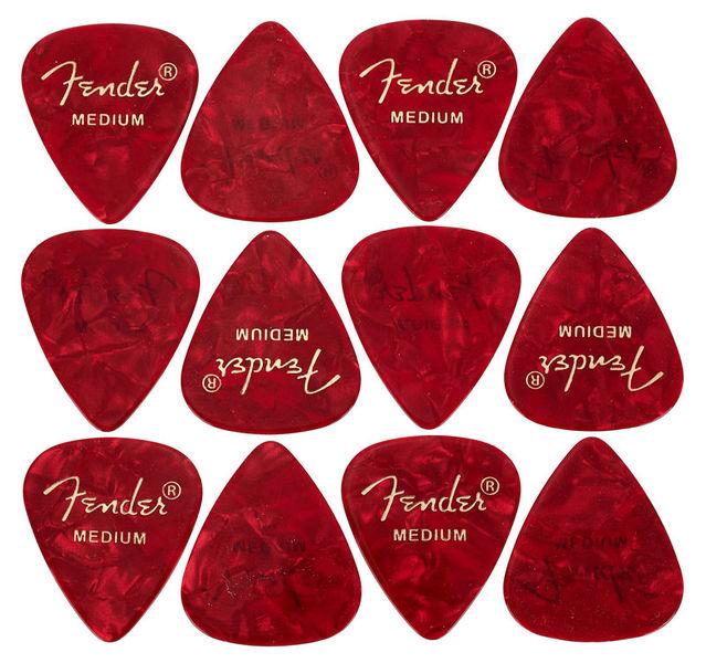 Fender Red Moto Pick Medium