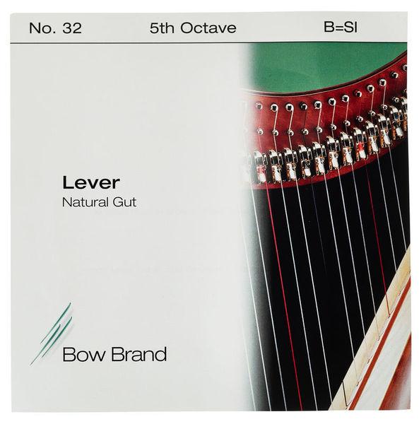 Bow Brand NG 5th B Gut Harp String No.32
