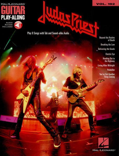 Hal Leonard Guitar Play-Along Judas Priest