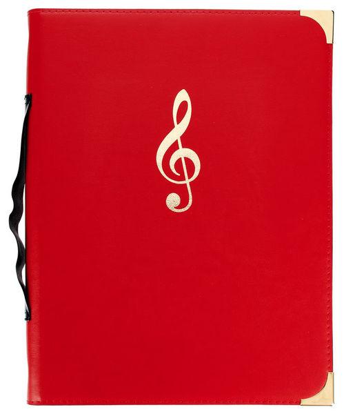 Rolf Handschuch Music Folder Classic Red HS