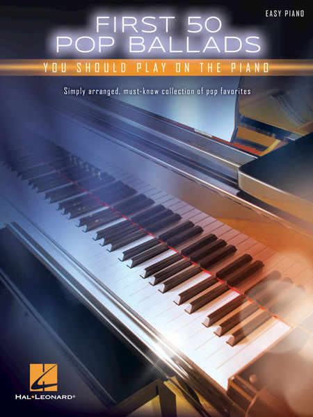 Hal Leonard First 50 Pop Ballads Piano