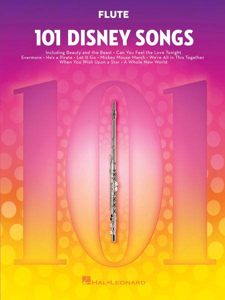 Hal Leonard 101 Disney Songs Flute