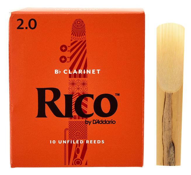 DAddario Woodwinds Rico Bb- Clar 2.0