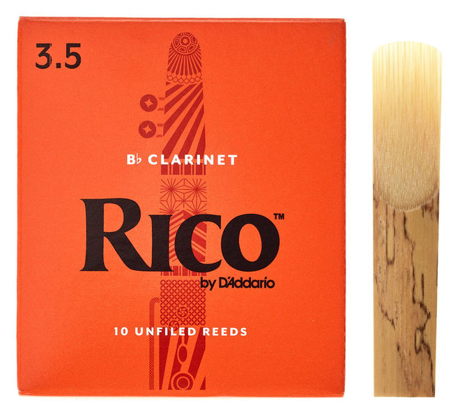 DAddario Woodwinds Rico Bb- Clar 3.5