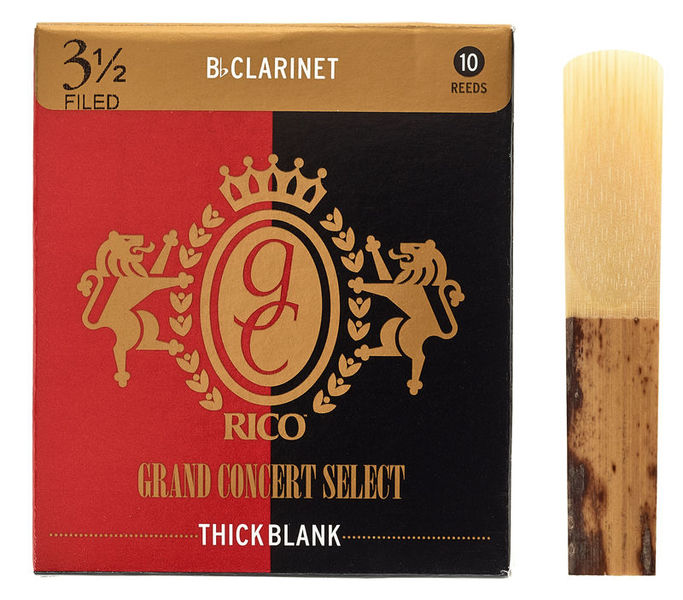 DAddario Woodwinds Grand Concert Thick Blank 3.5