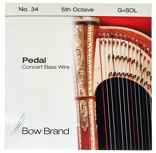 Bow Brand Pedal Wire 5th G String No.34