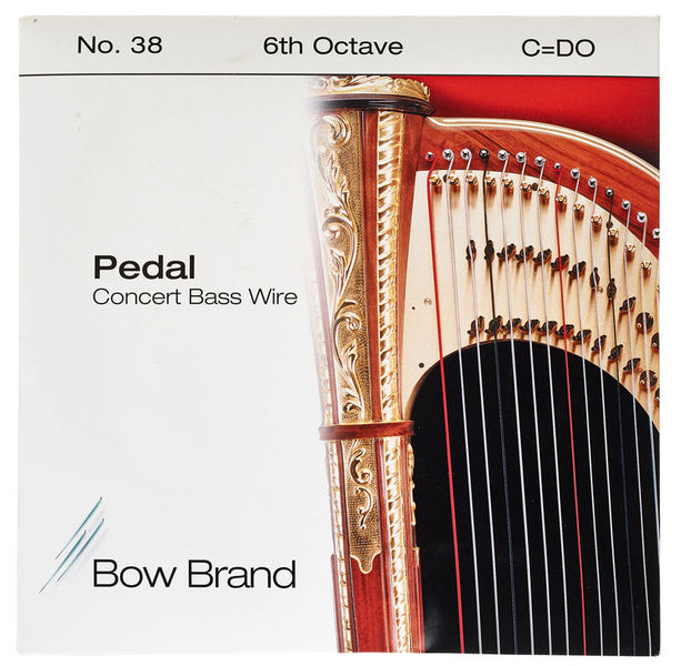 Bow Brand Pedal Wire 6th C String No.38