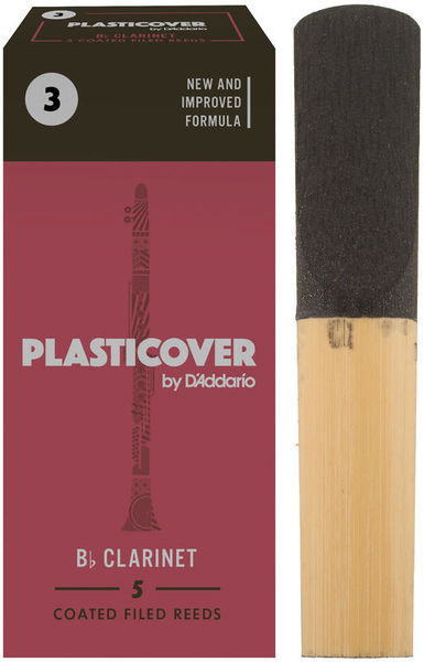 DAddario Woodwinds Plasticover Bb- Clarinet 3.0